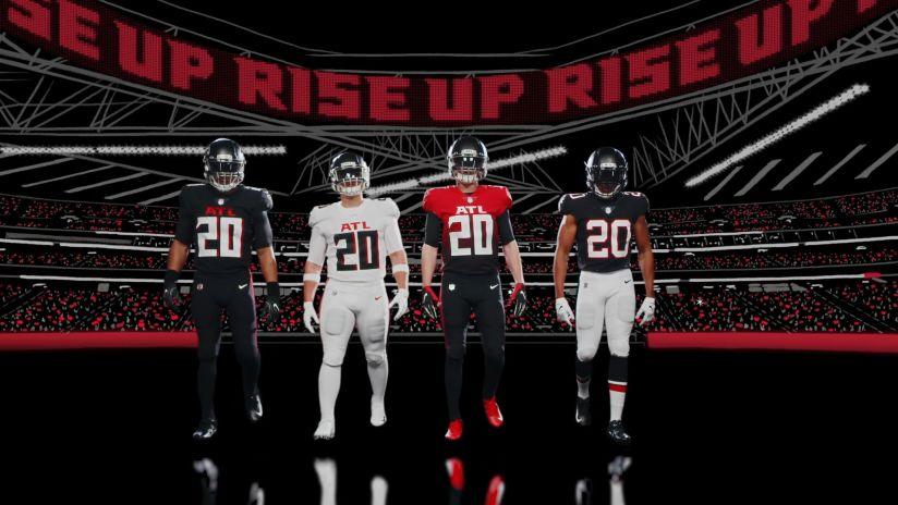 Falcons new uniforms unveil a new era