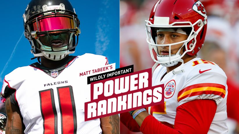 Tabeek's NFL Power Rankings: Falcons in top 10 heading into 2019