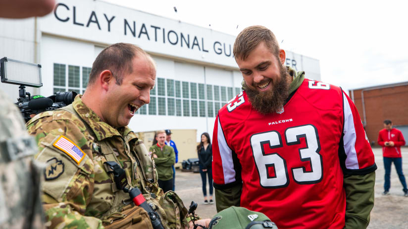 PHOTOS  Falcons Visit Clay National Guard Center · PHOTOS  2018 Military Day f7f38bb47