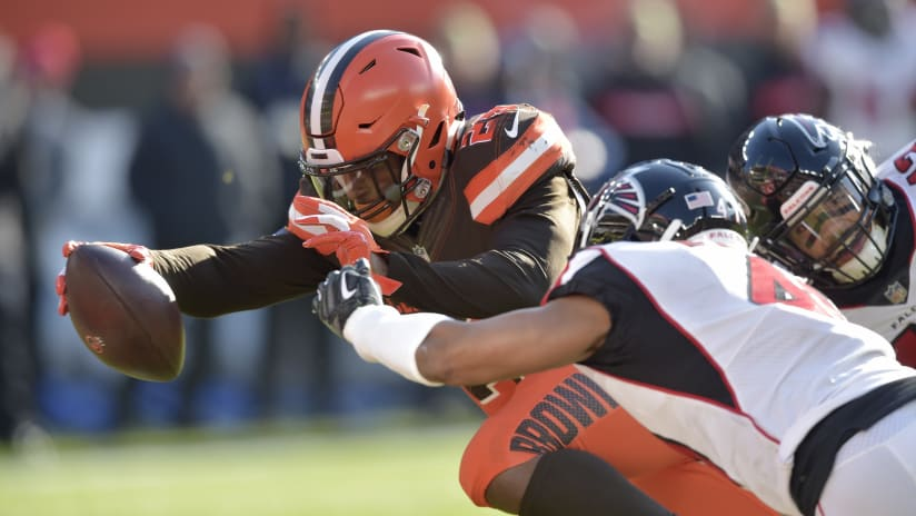 falcons browns final score highlights three game win streak ends