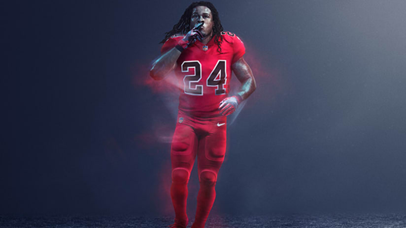 b11d7342b NFL and Nike Reveal Color Rush Uniforms