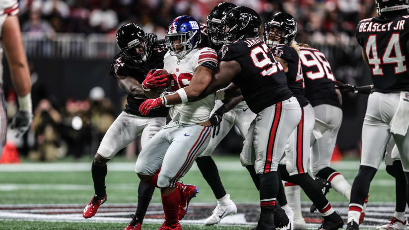 6448ab69b66 ATLANTA – The Falcons (3-4) earned back-to-back wins for the first time  this season after defeating the New York Giants (1-6), 23-20, on
