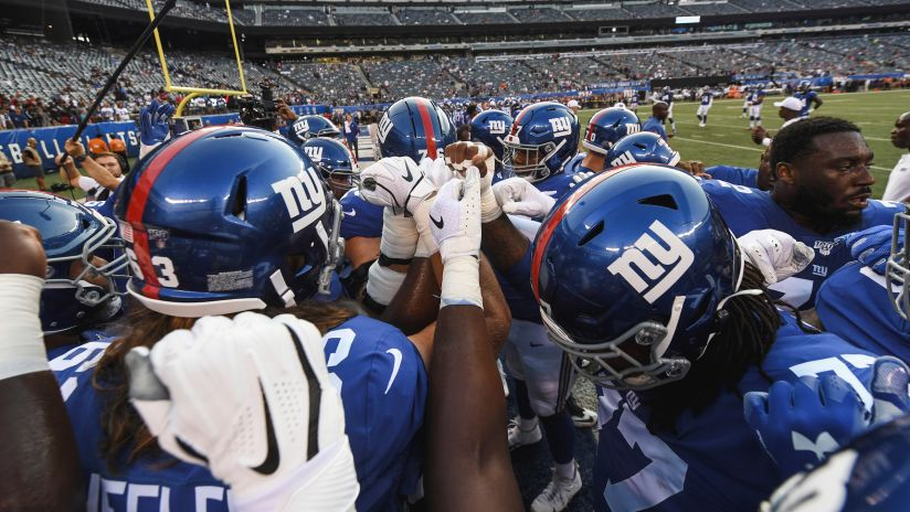 Gameday Ready Giants Battle Texans Today