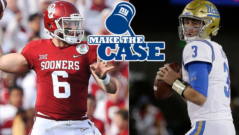 new styles 0e17e b0708 Make the Case: QB Baker Mayfield vs. QB Josh Rosen