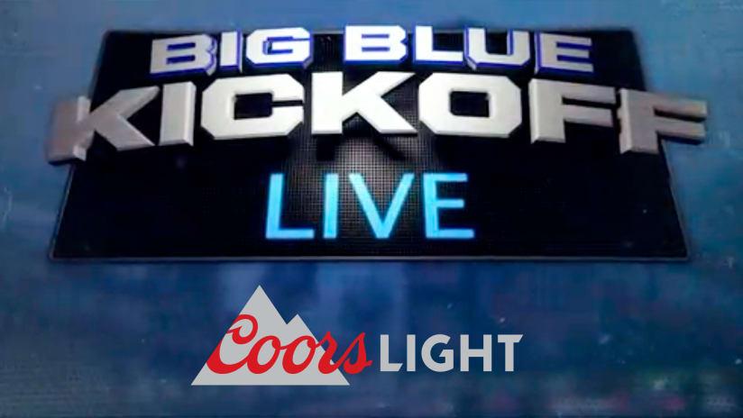 big blue kickoff live