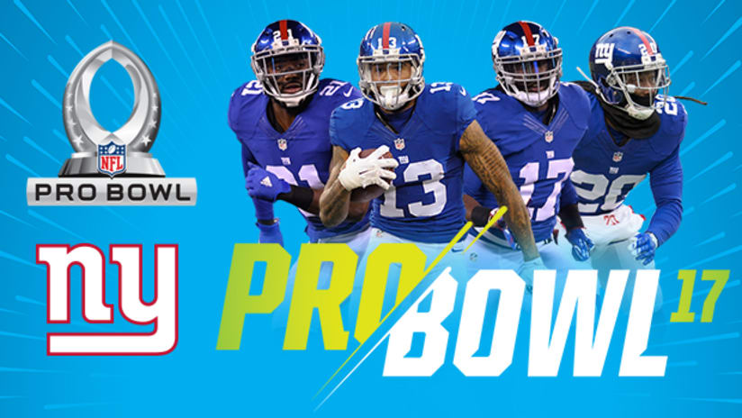 new product a1d8b d1fd9 Odell Beckham Jr. among four Giants named to Pro Bowl