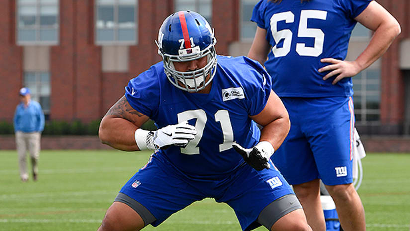 the latest b77f7 0fafc Will Hernandez aims to impress Giants coaches