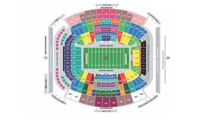 Jaguars Stadium Jacksonville Jaguars Jaguarscom