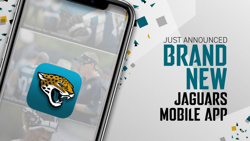 Jaguars Launch New Mobile App and Introduce Secure Digital Ticketing