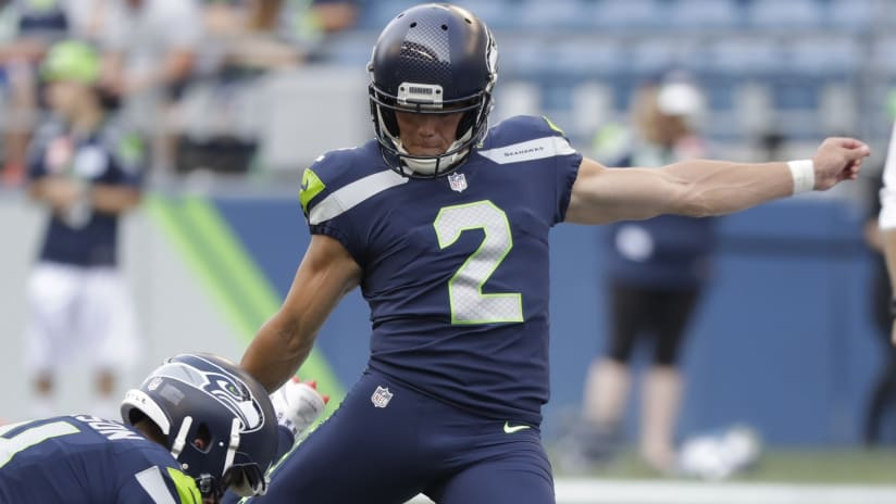 Jets Acquire K Jason Myers on Waivers from Seahawks