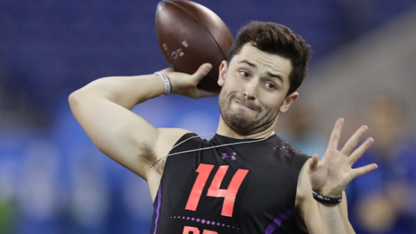 4d183560975 If you want your young quarterback's football talk to be tame, tepid and  politically correct, Baker Mayfield may not be for you.