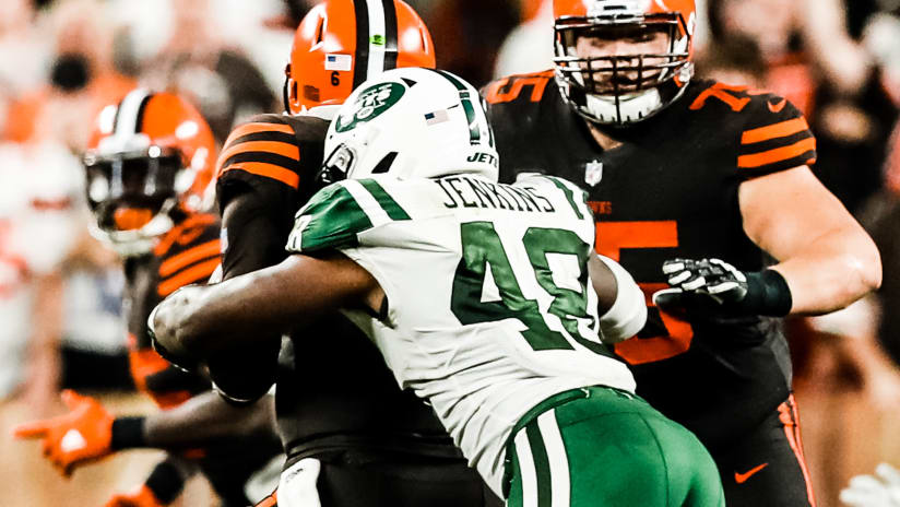 Official site of the new york jets 8 observations jets fall from ahead lose 21 17 in cleveland fandeluxe Choice Image