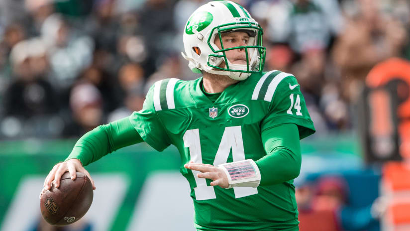 best service 8408d 258c7 Jets QB Sam Darnold Isn't Looking for Excuses After Loss to ...
