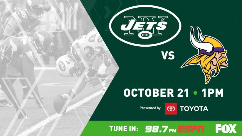 eae371430 GAMEDAY GUIDE  Jets vs. Vikings (10 21)