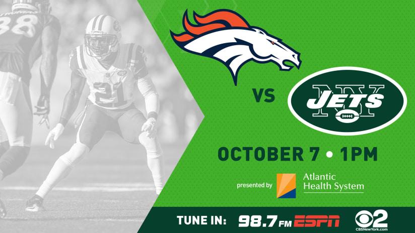 Gameday Guide Jets Vs Broncos 10 7