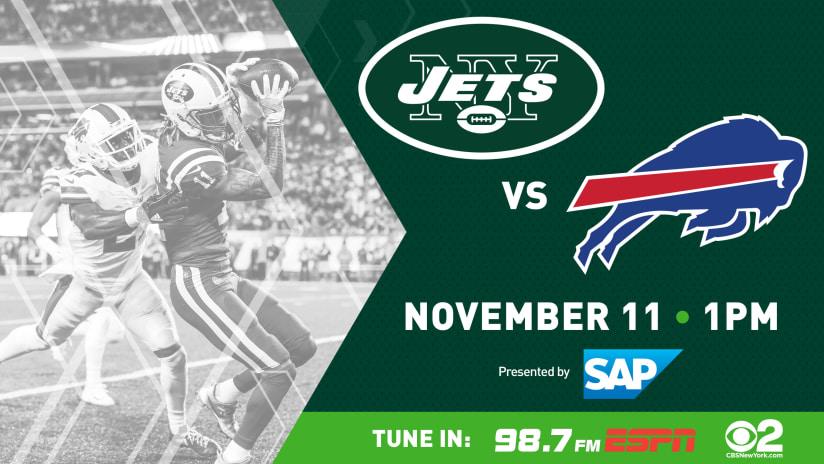 b255ff4b7 GAMEDAY GUIDE: Jets vs. Bills (11/11)
