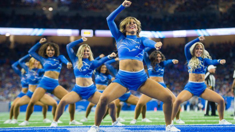 Detroit Lions Cheerleaders Photos Detroit Lions
