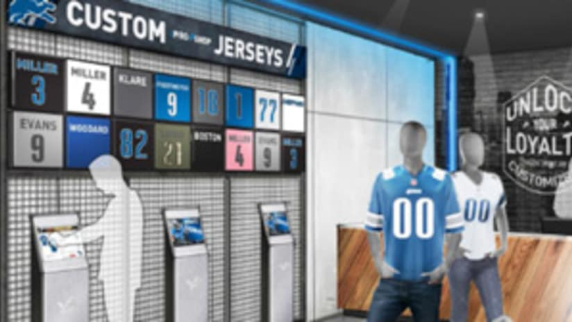 size 40 65f0a 233cf Exclusive Lions Gear to be sold at Ford Field's 'The Stadium ...