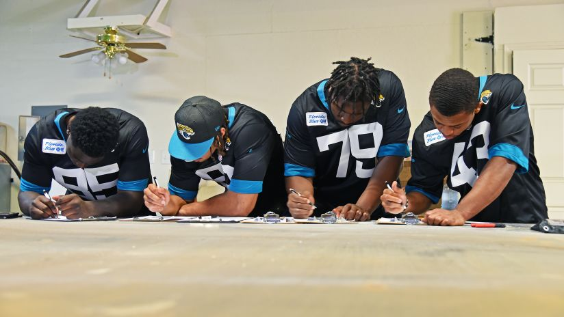 Jacksonville Jaguars Kick Off _One Team. One Home._ Initiative
