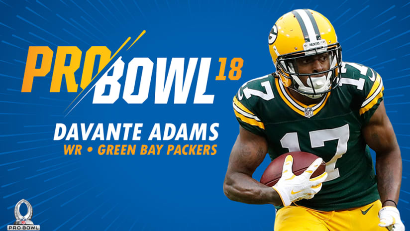 Green Bay Packers WR Davante Adams has been named to the Pro Bowl roster da77b0463