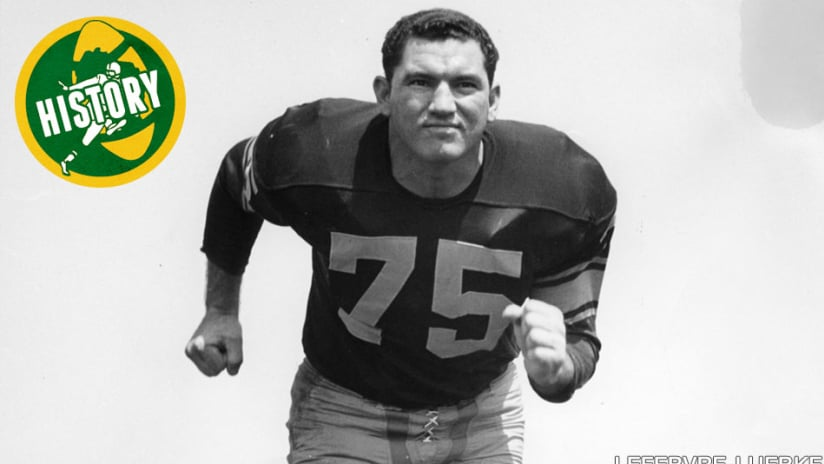 26dbbcb69fa Forrest Gregg  The best of the Packers  offensive tackles
