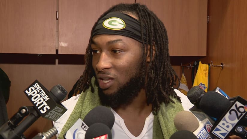 Jones and RBs look to take pressure off of Rodgers