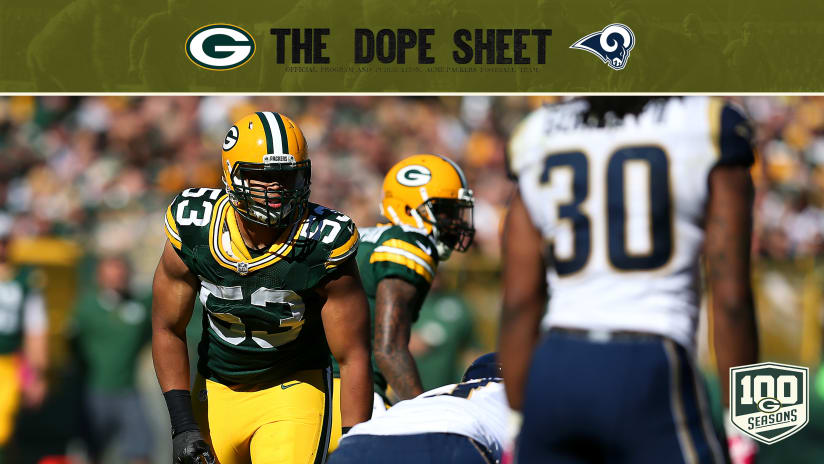 Packers Travel West To Face The Rams