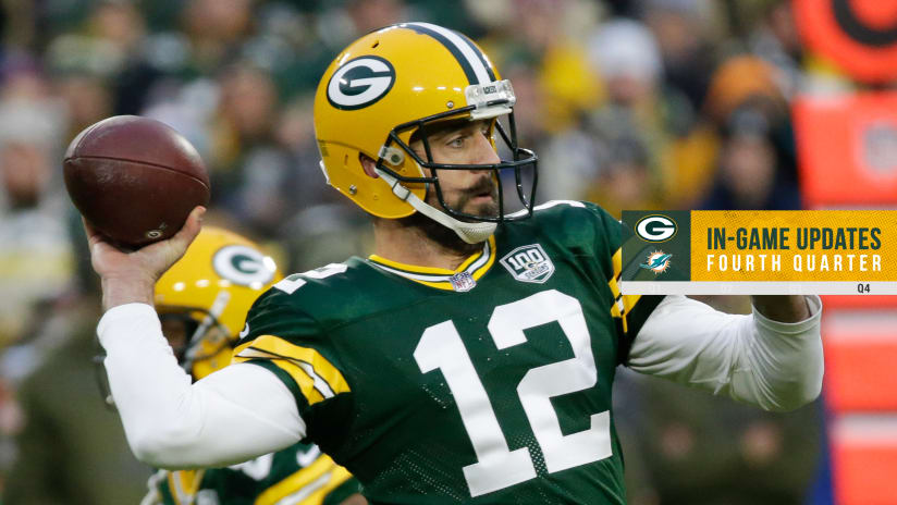 eee3b89aa Packers get back to .500 with 31-12 win over Dolphins