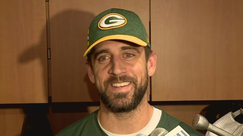 Rodgers: 'It's difficult for me to not be out there'