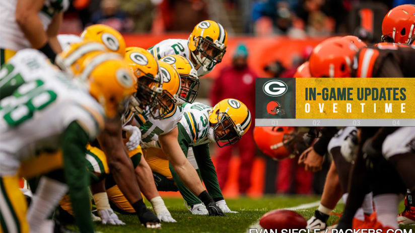 ... to WR Davante Adams in overtime gave the Packers a season-saving 27-21  victory over the Browns in Cleveland on Sunday. Green Bay won its second  straight ... 4fea67063236