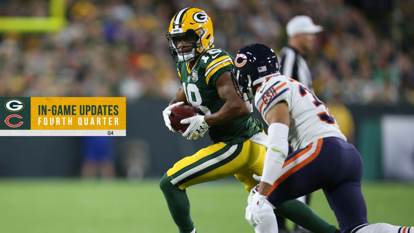 de7e07227e3 Rodgers leads incredible comeback, 24-23 over Bears