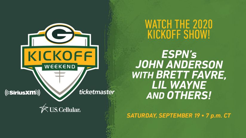 Packers Set To Air Kickoff Weekend Show On Saturday Sept 19