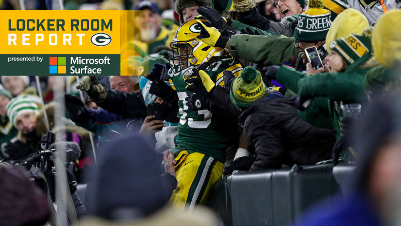 First two-touchdown game holds special meaning for Aaron Jones 381dabe3e