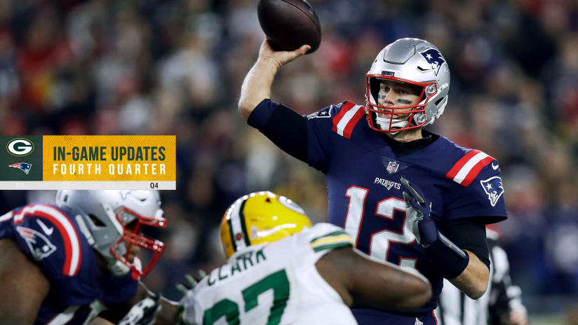 ae8fc8cda80 Patriots pull away for 31-17 triumph over Packers