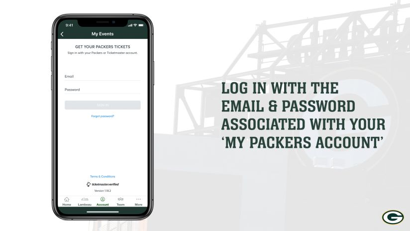 Packers Mobile Ticketing | Green Bay Packers – packers com