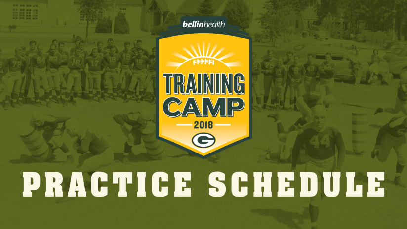 Schedule set for Packers training camp. 180615-camp-schedule-2560 353914762