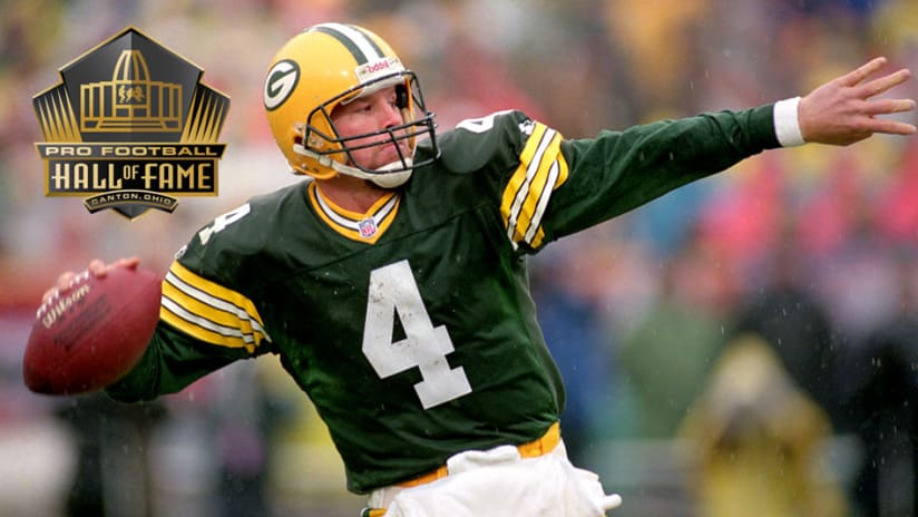 new styles 4a2bd 3120d Brett Favre earns Hall of Fame induction on first ballot