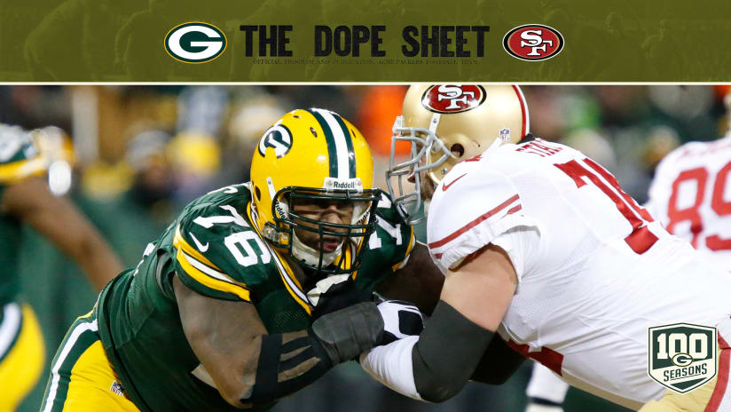 48905b760 Packers and 49ers will meet in primetime