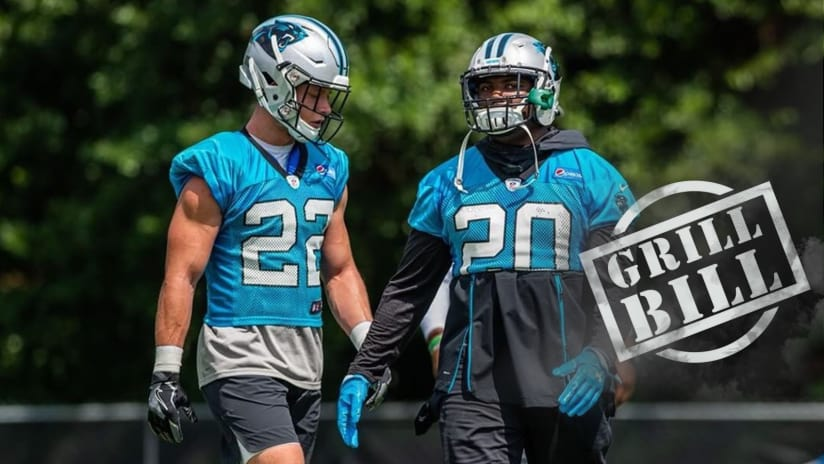 90ff0707307 Website submission from Mark in Charlotte  Could Christian McCaffrey and  C.J. Anderson be Carolina s new smash and dash duo !