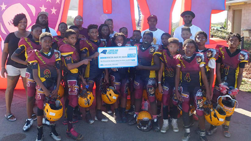 Panthers Award 2017 Youth Football Travel Grant b2b5133f9