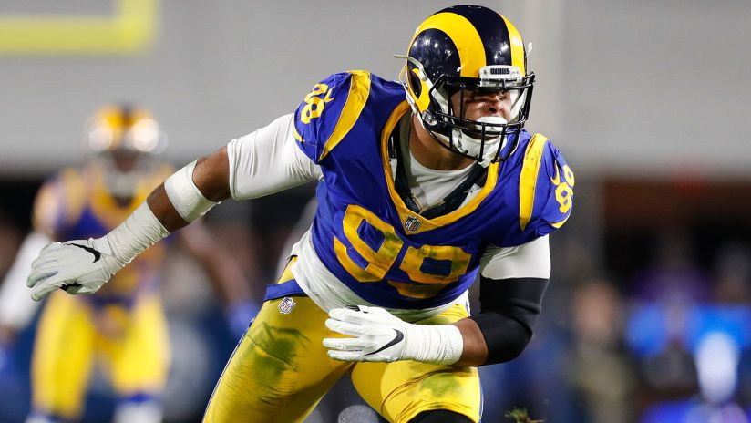 Panthers say nice things about Rams star DT Aaron Donald