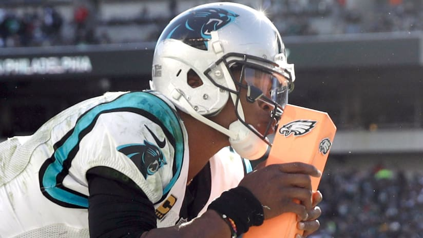 Panthers edge eagles with historic comeback this time cam completes the comeback m4hsunfo