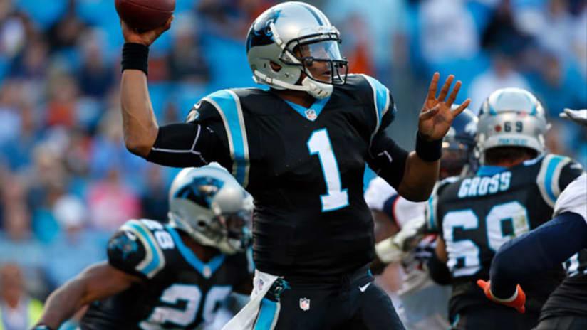 d9dc67055 CHARLOTTE – The Carolina Panthers  black-on-black look that won an NFL.com  contest as the