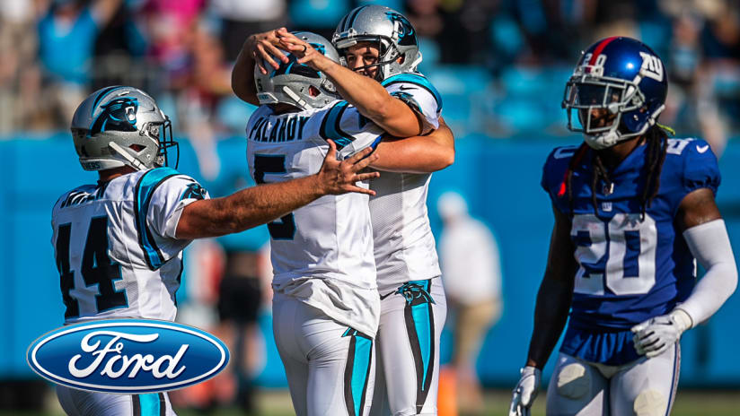 reputable site 81885 d3d11 Graham Gano's game winner pushes Panthers past Giants 33-31