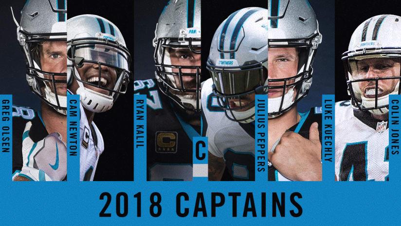 0499603c Panthers announce 2018 team captains