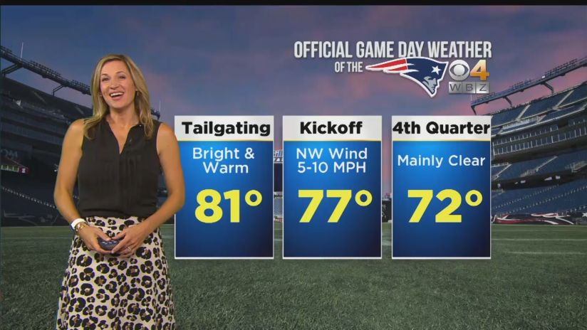 Gameday Weather Report Giants At Patriots