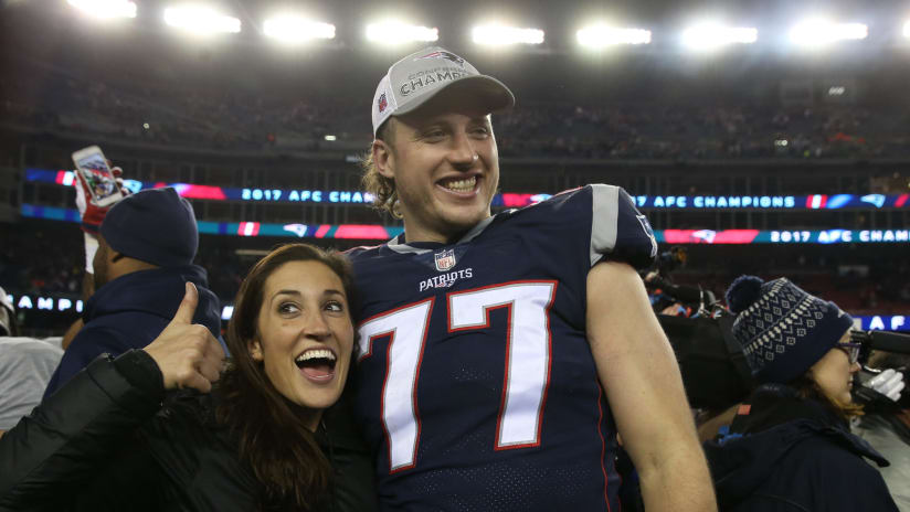 Nate Solder Is Proudly Rocking A Mullet