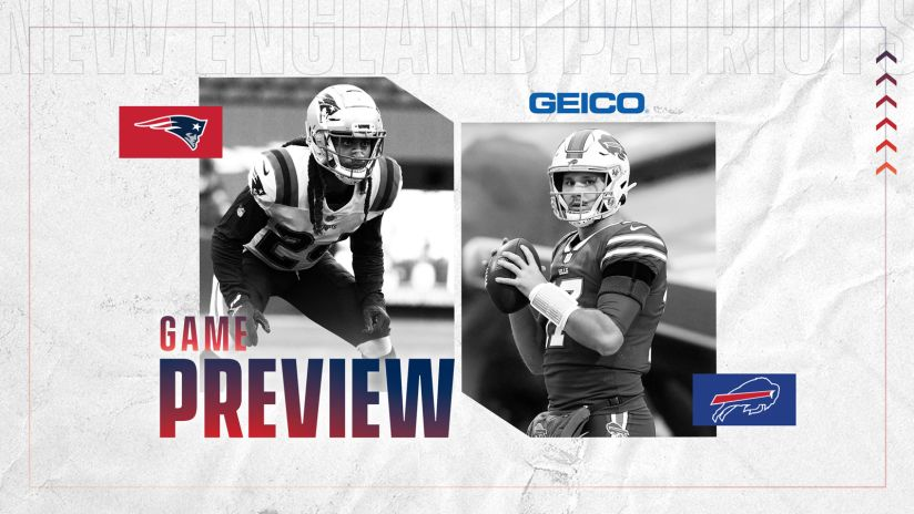 BILLS GAME WEEK: Buffalo takes on the Patriots Sunday afternoon (preview, media & info)