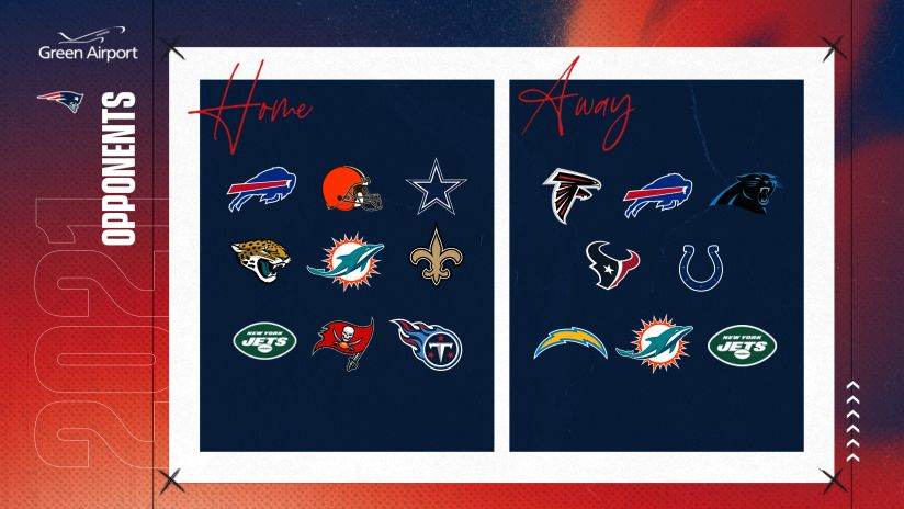 Calendrier Nfl 2022 2023 Future Patriots Opponents: 2021 through 2024