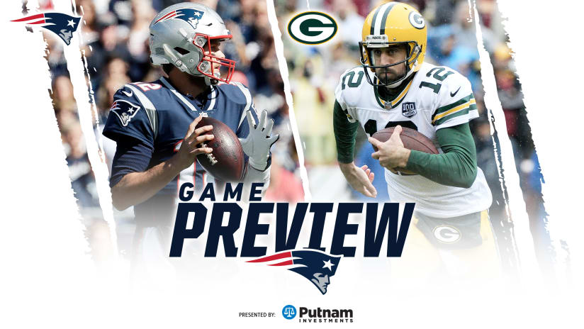 game preview packers at patriots
